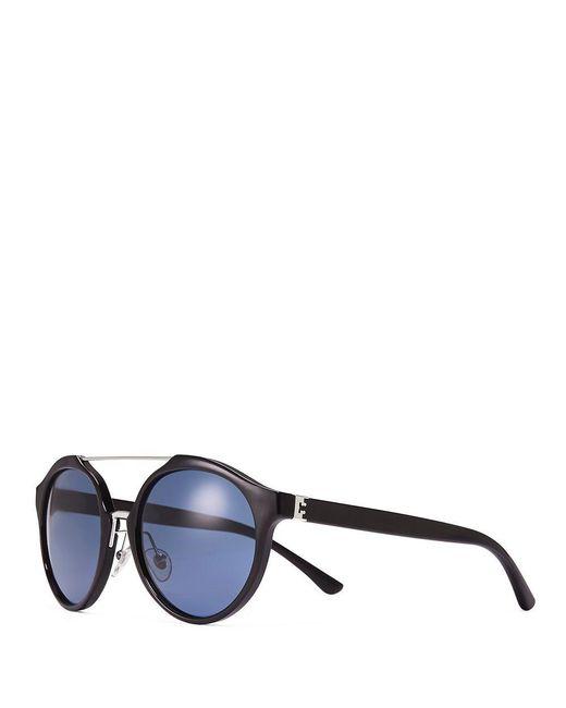 Tory Burch | Multicolor Double-bridge Round Sunglasses | Lyst