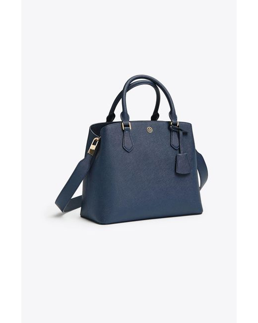Tory Burch - Blue Robinson Triple-compartment Tote - Lyst