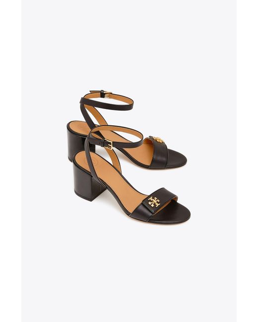 4e779f80112baf ... Tory Burch - Black Women s Kira Block Heel Sandals - Lyst