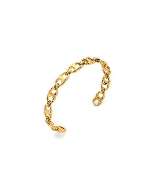 Tory Burch   Metallic Delicate Gemini Link Cuff Bracelet   Lyst