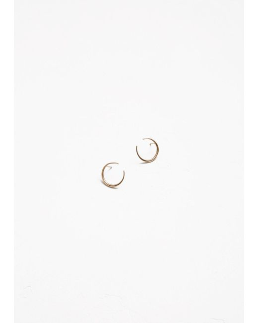 Gabriela Artigas | Metallic Small Eternal Earrings | Lyst