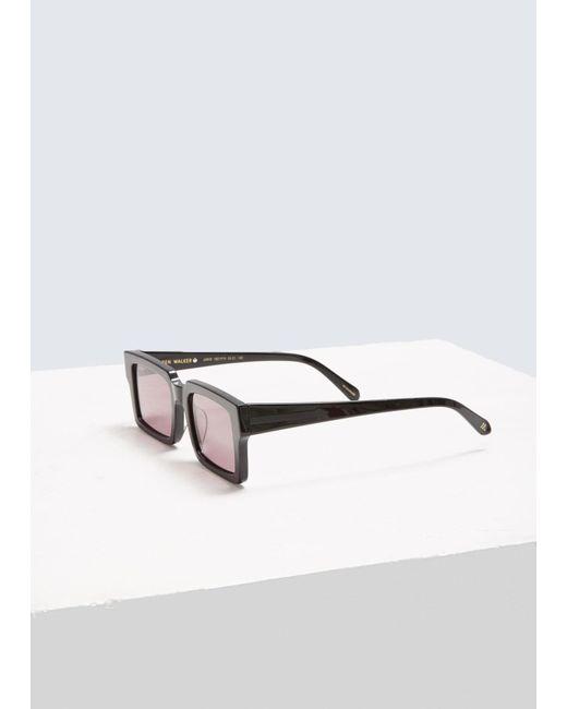 78e780b36bd ... Karen Walker - Black Jarvis Sunglasses - Lyst ...
