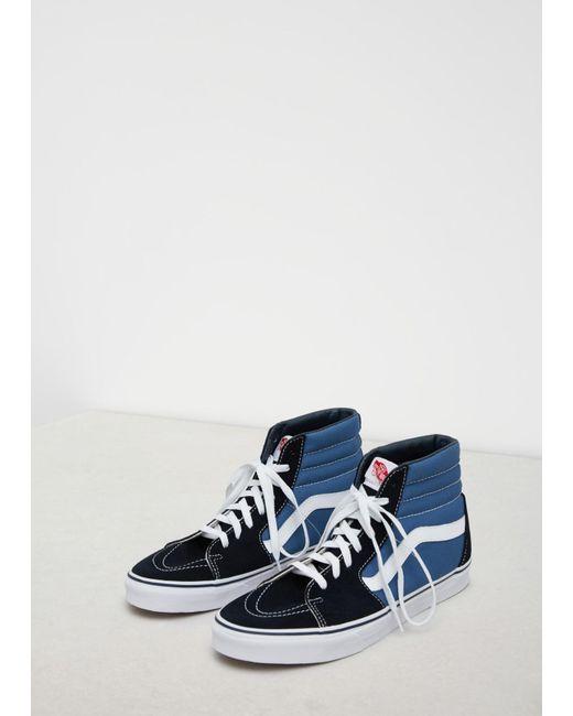 3794605048a5e6 Vans Navy Ua Sk8-hi Sneaker in Blue for Men - Save 4.0% - Lyst