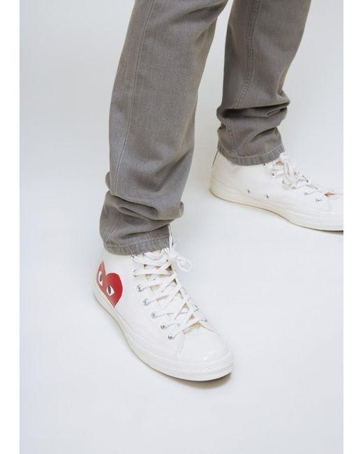 7c0ef19569a0ee Play Comme des Garçons - Natural Play Converse 70s Chuck Taylor High-  commes  des garcons sneaker ...