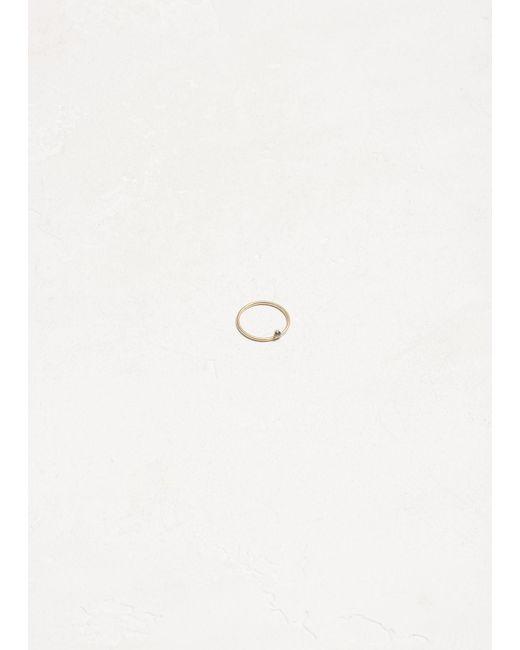 Wwake - Metallic 14k Gold / Sapphires One-step Ring - Lyst