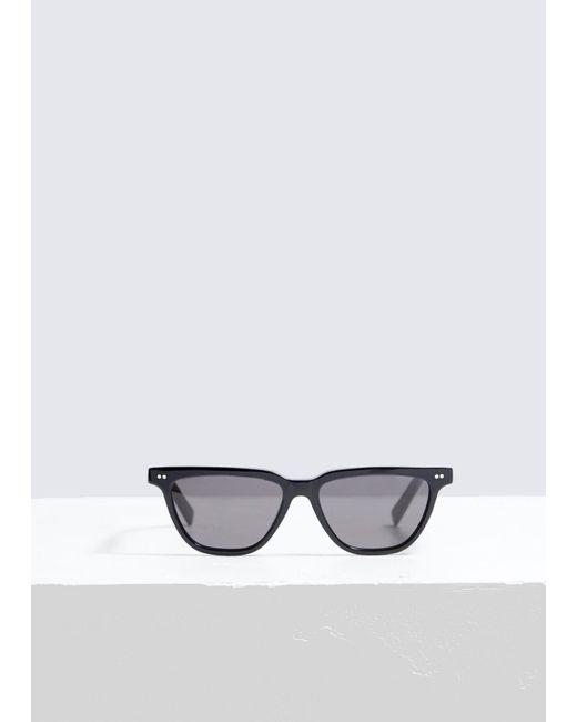 6fc6675a8b Céline - Black Square Cat-eye Sunglasses - Lyst ...