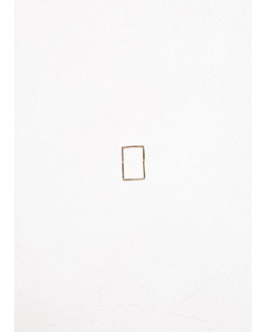 Shihara - Metallic Form Earring 02 15 - Lyst