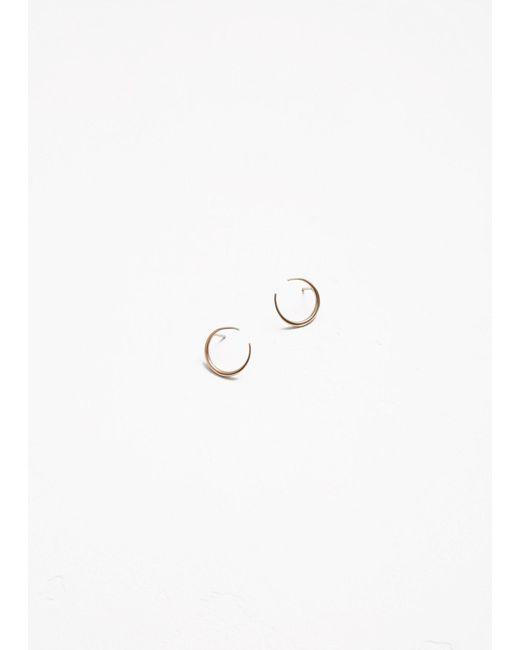 Gabriela Artigas - Metallic Small Eternal Earrings - Lyst
