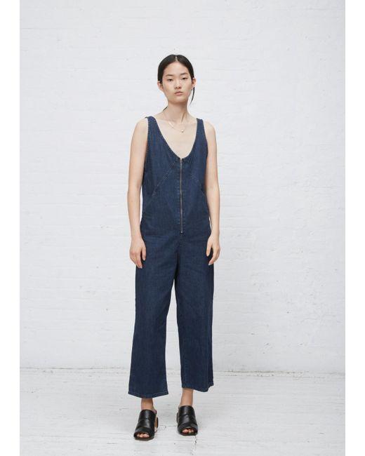 Rachel Comey - Blue Ink Wash Bender Jumpsuit - Lyst