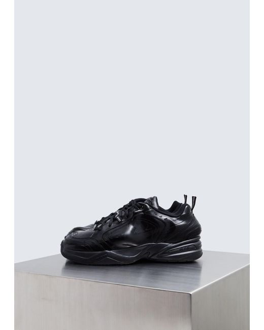 49e58d4d44c Nike - Black Martine Rose Air Monarch Iv Sneaker for Men - Lyst ...