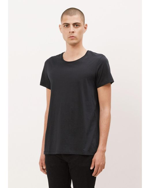 Acne | Black Navy Standard O T-shirt for Men | Lyst