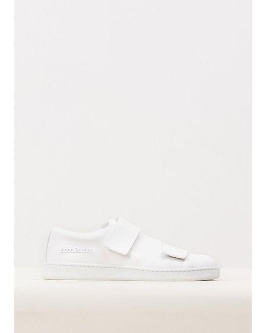 Acne | White Triple Sneaker | Lyst