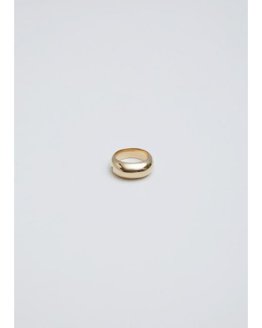 Tom Wood | Metallic Gold Ice Ring Slim | Lyst