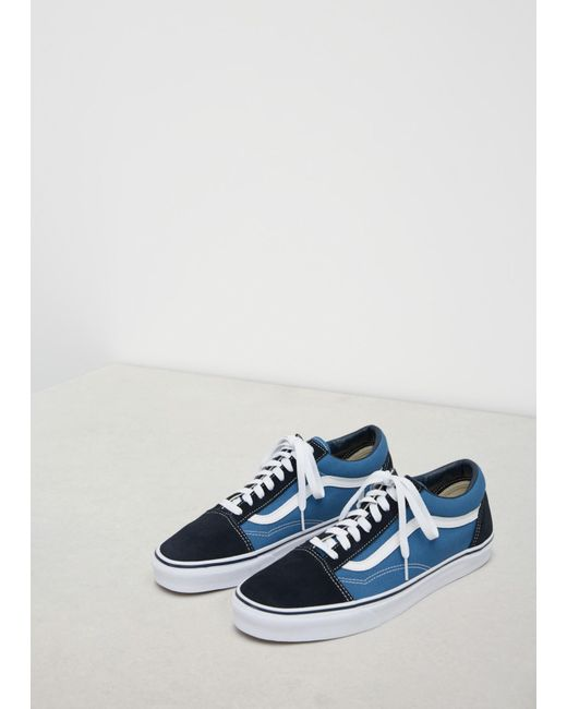 9d215b5a2e2 Vans Navy Men s Ua Old Skool Sneaker in Blue for Men - Save 2% - Lyst