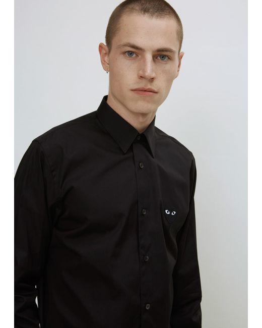 Play Comme des Garçons - Black Black Heart Shirt for Men - Lyst