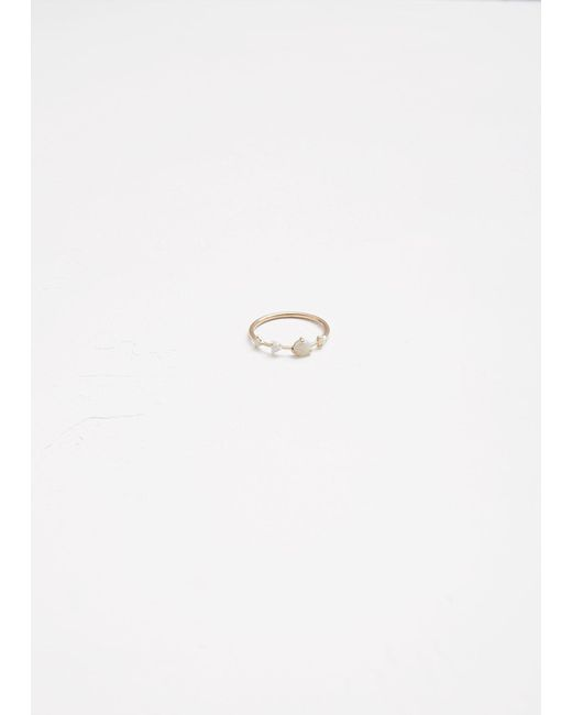 Wwake - Multicolor Large Four-step Ring - Lyst