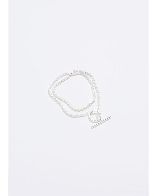 All_blues - Metallic Double Rope Bracelet for Men - Lyst