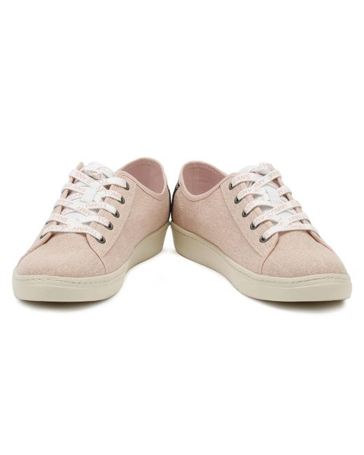 24793cfe5b81 ... Tommy Hilfiger - Tommy Jeans Womens Rose Cloud Low Trainers Women s  Shoes (trainers) In ...