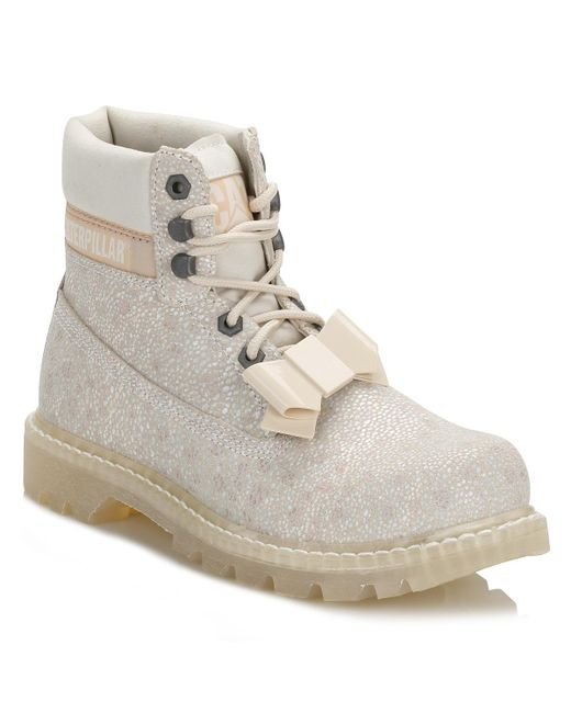 Caterpillar | Womens White Colorado Curtsy Boots | Lyst