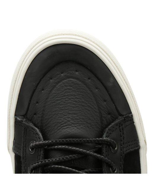 3e4ba6742e ... Vans - Sk8-hi Mte Dx Black Boots for Men - Lyst ...