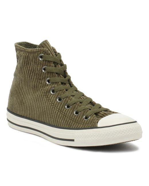 Chuck Taylor All Star Mens Field Surplus Green Hi Sneakers