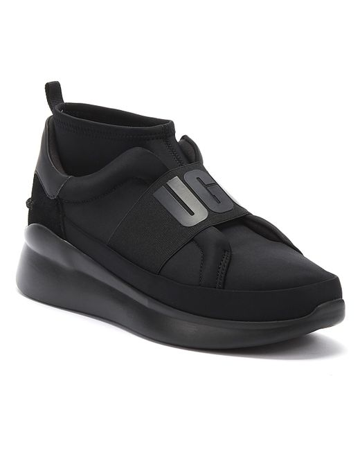 Ugg UGG Neutra Womens Black Mono Trainers