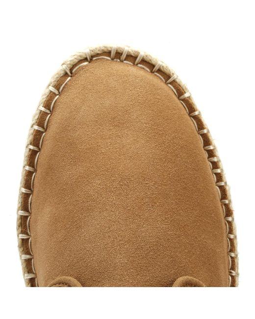 0a56a63cff0 ... TOMS - Brown Mens Toffee Diego Espadrilles for Men - Lyst ...