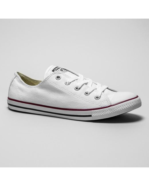 17e22baf4058db Converse Ct Dainty White Trainers in White - Save 20.40816326530613 ...