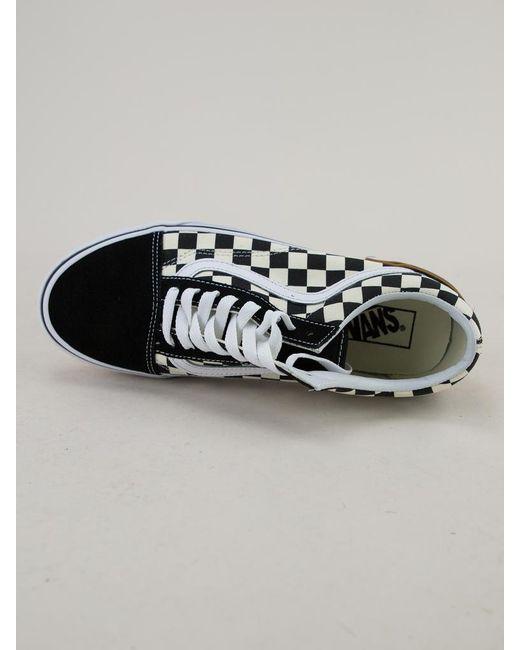 dbbce371690b ... Vans - Multicolor Old Skool (gum Block) Checkerboard Trainers for Men -  Lyst ...