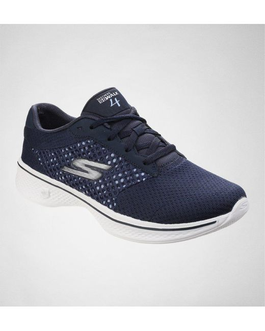 175232534d5 Skechers - Blue Go Walk 4 - Exceed Trainers - Lyst ...