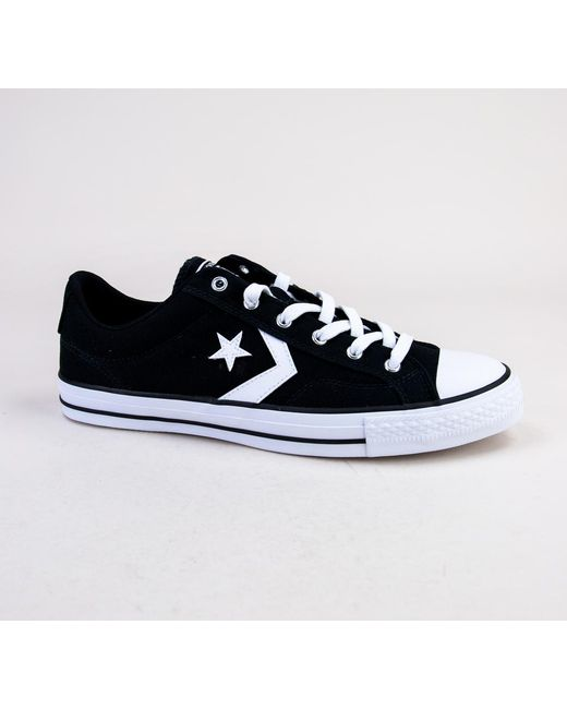Converse - Blue 161595c Star Player Ox Black-white-white Trainers for Men  ... e2227984b