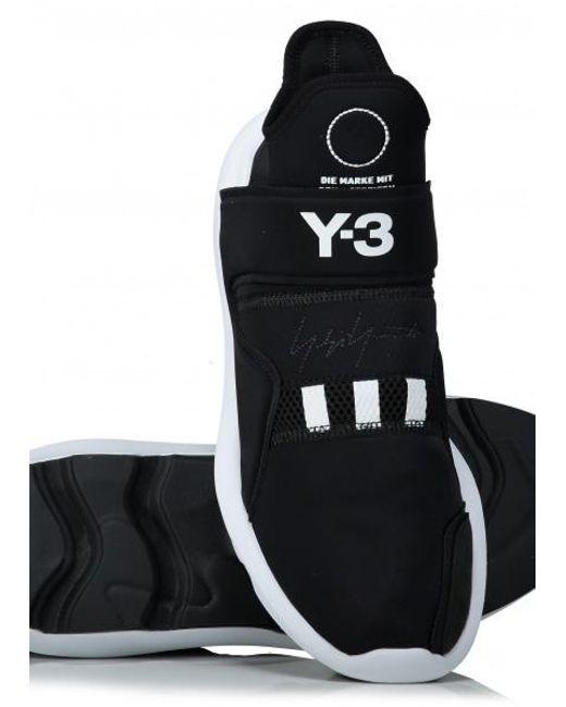 3f6b1aeb9 ... Y-3 - Black Y3 / Adidas for Men - Lyst ...
