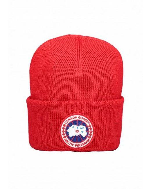 d0444ac8f1c Men's Red Arctic Disc Toque Hat