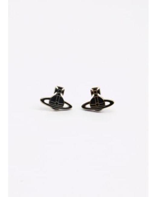 Vivienne Westwood | Kate Earrings Palladium/black Colour: Bl | Lyst