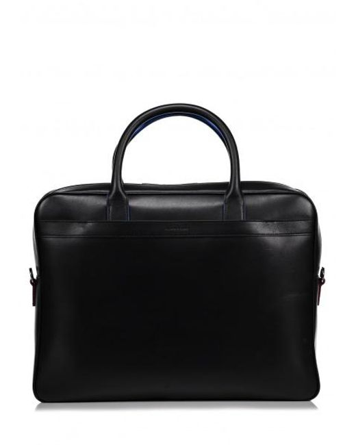 Paul Smith | Black Foglio Leather Bag for Men | Lyst