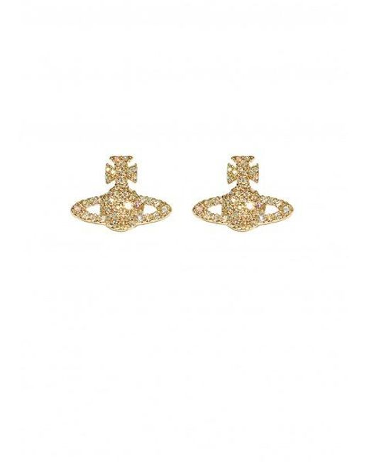 Vivienne Westwood - Metallic Grace Br Stud Earrings - Lyst