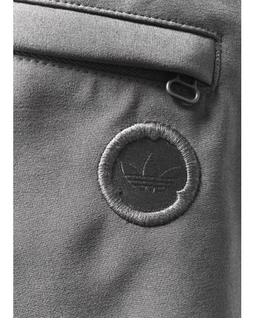 adidas track originali dei pantaloni in grigio per gli uomini lyst
