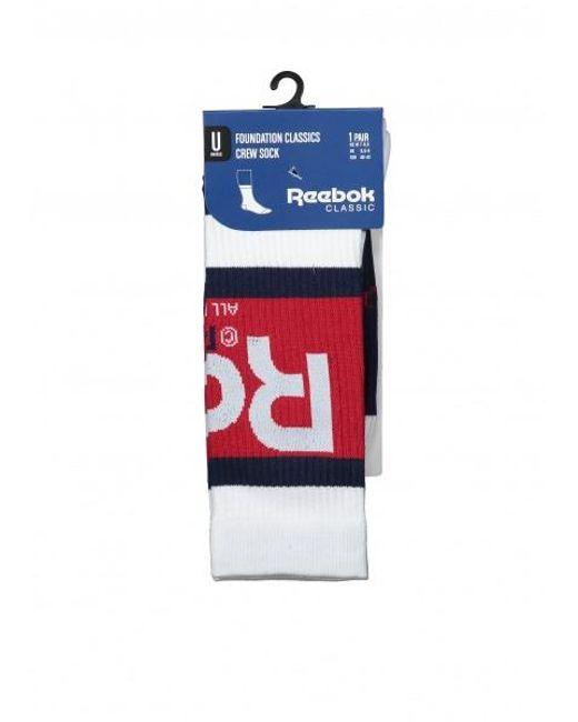 Reebok - White Graphic Crew Sock for Men - Lyst