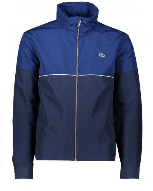 Lacoste | Blue Zip Jacket for Men | Lyst
