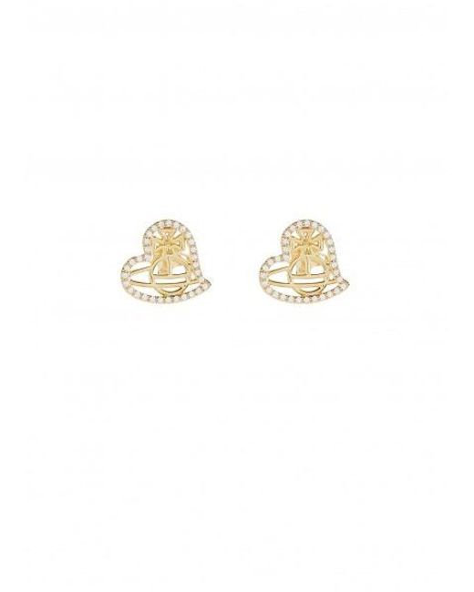 b4479c006 Vivienne Westwood - Metallic Giuseppa Stud Earrings - Lyst ...