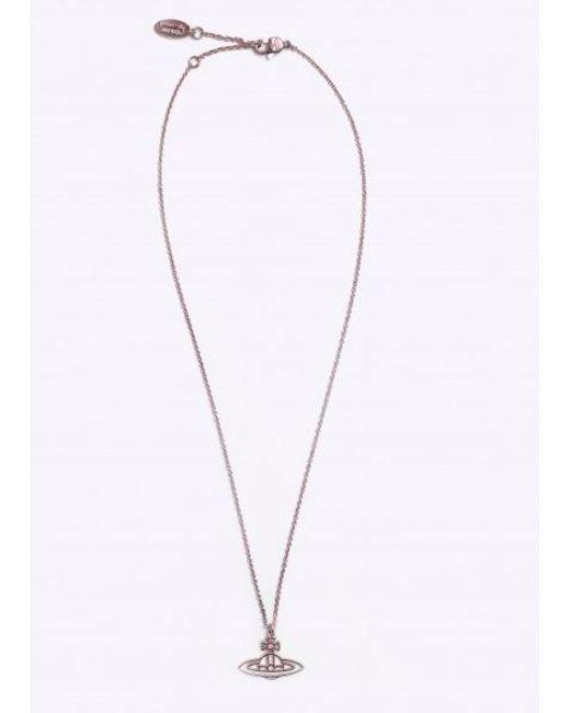 7488449191494f Vivienne Westwood - Metallic Thin Line Flat Orb Pendant - Lyst ...