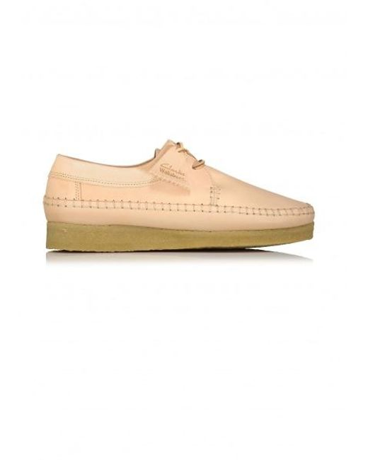 Clarks - Weaver Natural Leather - Lyst