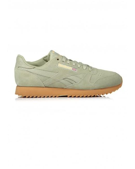 16b5d8f6a69 Reebok - Green X Montana Cans Cl Leather for Men - Lyst ...
