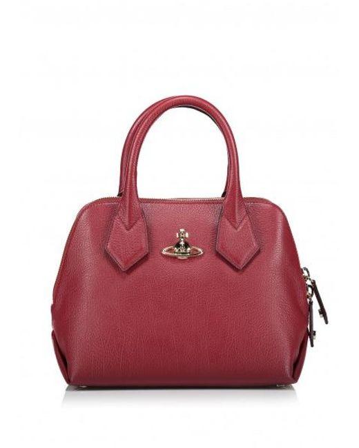 3146c0308f70 Vivienne Westwood - Red Balmoral Small Handbag - Lyst ...