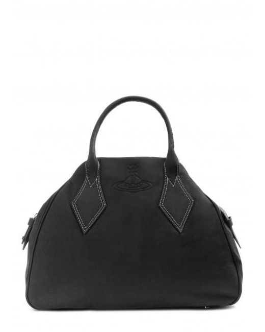 Vivienne Westwood Black Yasmine Large Bag