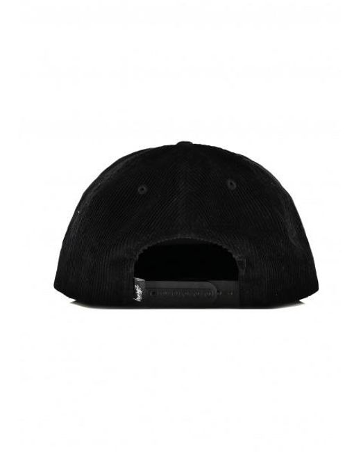 76adb7c9bee7 ... Stussy - Black Washed Cord Snapback for Men - Lyst