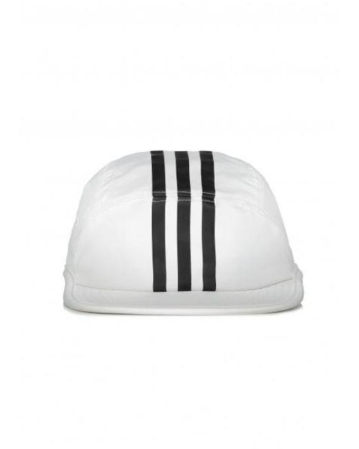 72bb335380e Adidas Originals - White Tech 3 Stripe Cap for Men - Lyst ...
