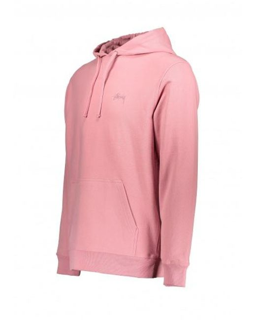 bcfae4fa7bf2 ... Stussy - Pink Stock Terry Hoodie for Men - Lyst ...