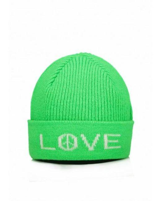 fe9b5dc3aa72d Paul Smith - Green Peace Love Neon Hat for Men - Lyst ...