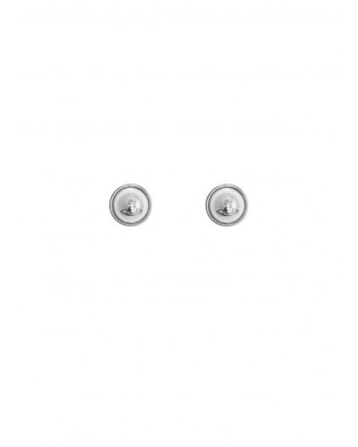 Vivienne Westwood - Metallic Olga Earrings Rhodium One Size Colour: R - Lyst